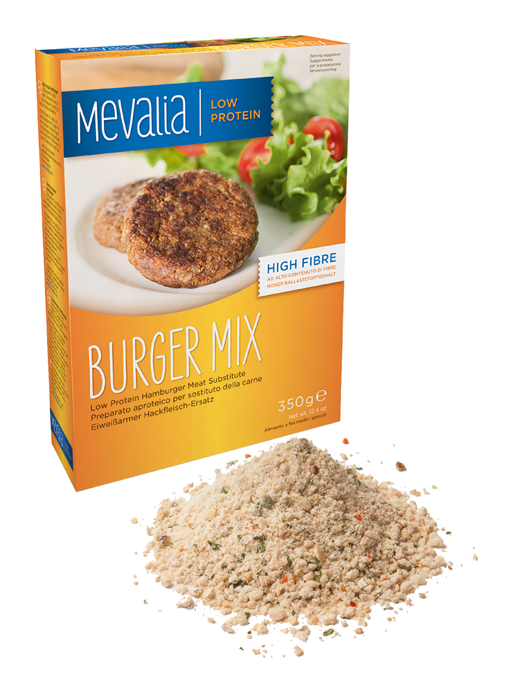 MEVALIA – BURGER MIX